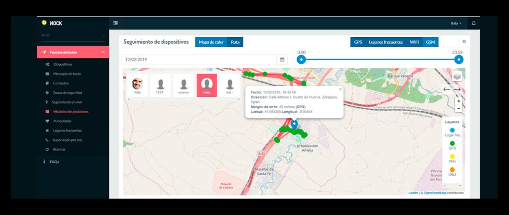 gps tracker localizacion
