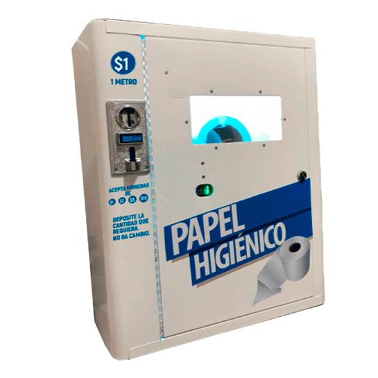 expendedora vending papel higiénico méxico negocio rentable, trabaja desde casa