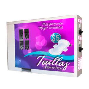 vending machine higiene toallitas, expendedora higiene toallitas mexico, trabajar desde casa, negocio rentable