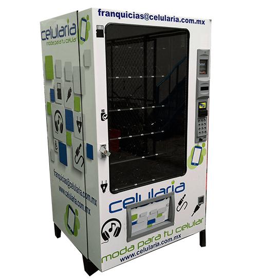maquina expendedora de celulares y accesorios para celular en mexico