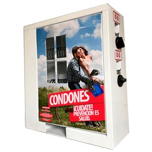 maquina expendedora vending condones preservativos méxico
