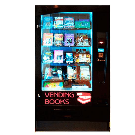 máquina expendedora de libros méxico. books vending machine. Vending Books