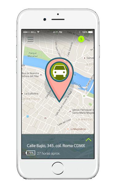 localizador gps para coche auto vehñiculo. tracker gps coche rastreo satelital coche auto vehiculo