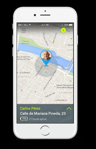 app y plataforma de rastreo para Localizador Gps para Personas con Alzheimer y adultos mayores y teleasistencia en méxico