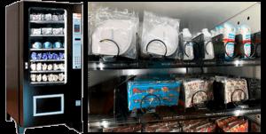 expendedora material anti covid sanitario