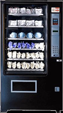 Maquina Expendedora productos Covid Sanitarios