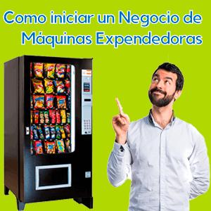 Como funciona el negocio de Máquinas Expendedoras Vending