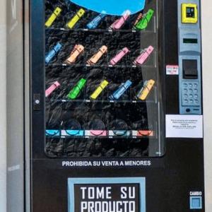 Expendedora cigarros electrónicos vapes
